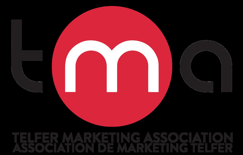 Telfer Marketing Association logo.