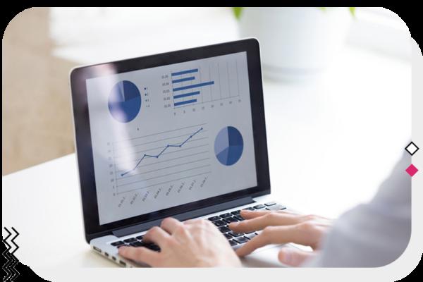 Website report analytics